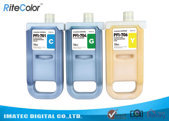 Wide Format Inks 700ML Canon Ipf9400 Plotter Premium Pigment Ink Tank