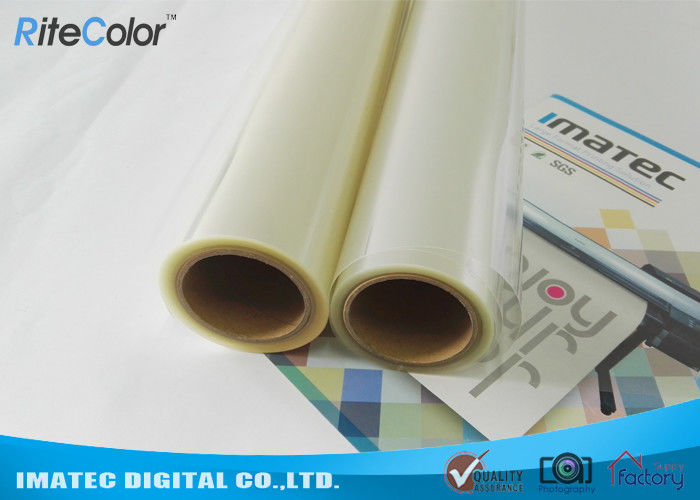 Waterbased Plastic Pigment Inkjet Film Transparency 100 Micron Depth