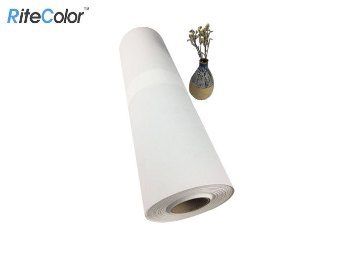 RiteColor Brand Large Format 420gsm Printable Canvas Roll For Digital Inkjet Printing