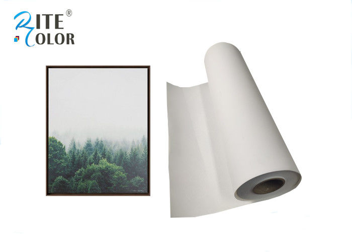 Waterbased Polyester Canvas Rolls 260gsm Matte Inkjet Canvas Printing